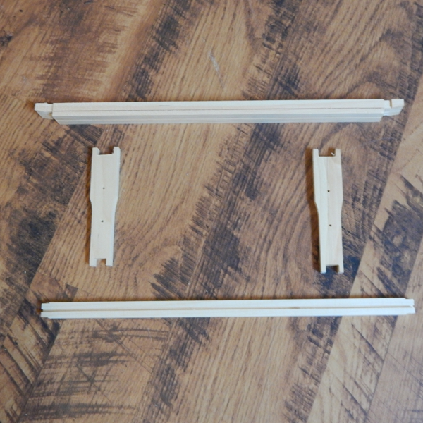 Frame Split Wedge One Grooved Bottom - Medium