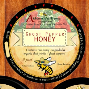 Ghost Pepper Infused Honey